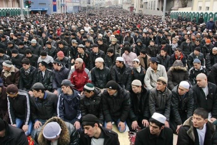 Supermarket di Rusia Berubah Jadi Masjid, ini Faktanya!