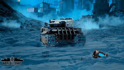 Icebreaker Tank