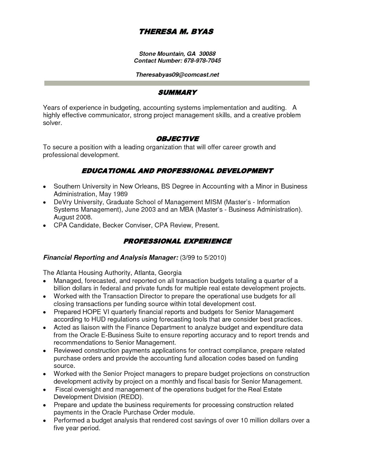 Best Resume Templates 2020.Best Accounting Resumes 2019 Best Resume Accounting