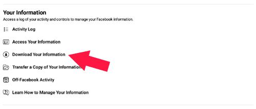 Cara Mengembalikan Postingan FB Yang Terhapus Dengan Backup Data Lewat HP