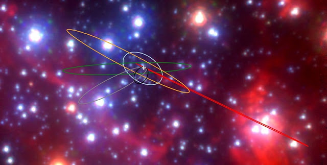 astronomers discover class of strange objects near our galaxy s enormous black hole