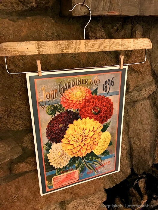 Vintage Seed Packet Prints