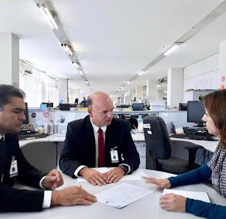 O prefeito em exercício da cidade de Guarabira Marcus Diôgo o secretário de saúde Wellington foram recebidos no ministério da saúde em Brasília.