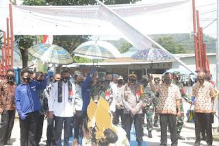 Kapolda Sulsel Tinjau Kampung Tangguh Balla Ewako Sudirman Kabupaten Maros