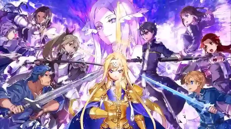 SWORD ART ONLINE: ALICIZATION RISING STEEL هو أحدث لعبة  للأنمي من SAO. تظهر قصة Alicization قصة من سلسلة الرسوم المتحركة Sword Art Online إلى الحياة عند دخولك إلى Underworld.