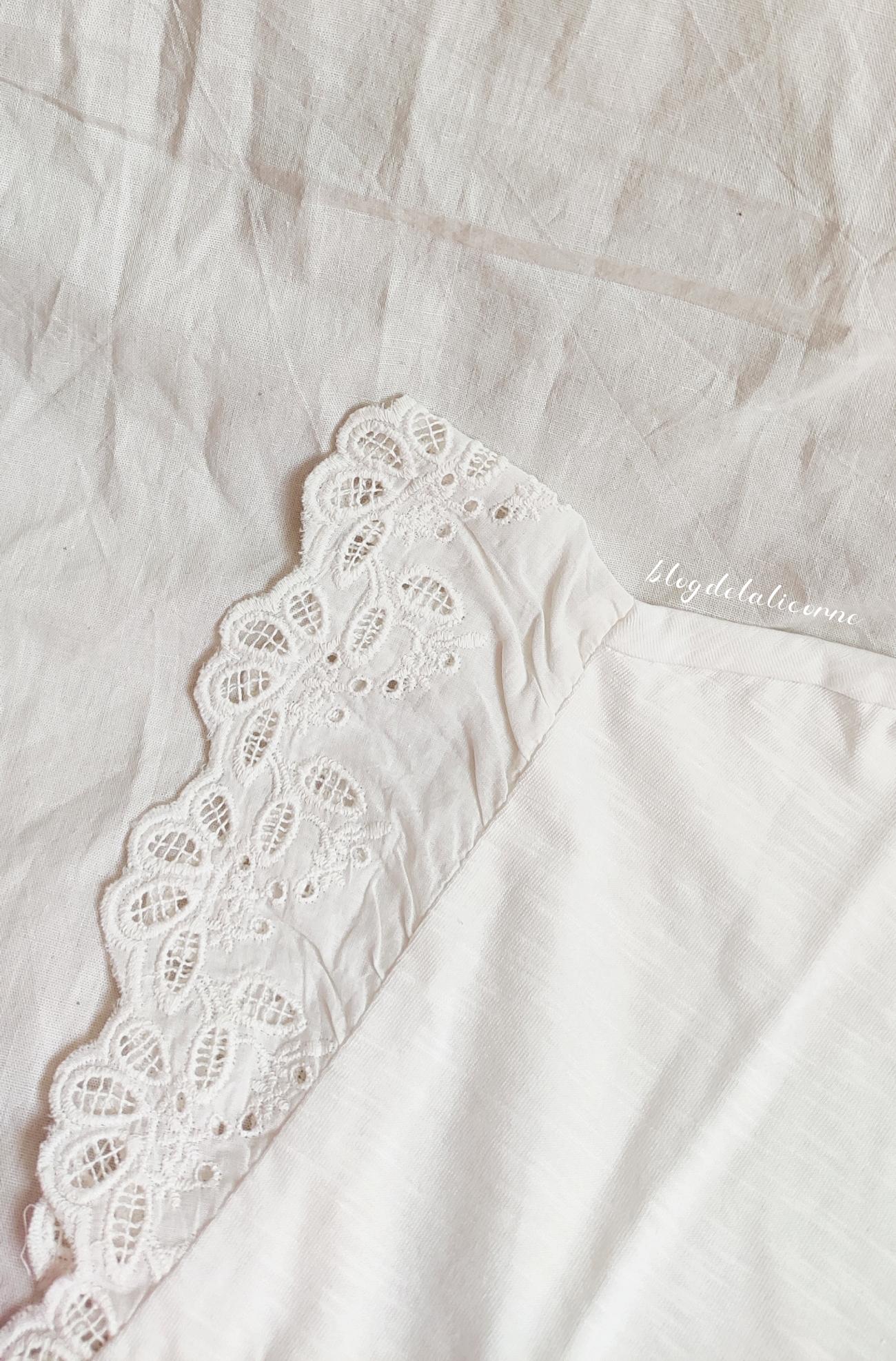 Bonprix tričko s čipkou recenzia