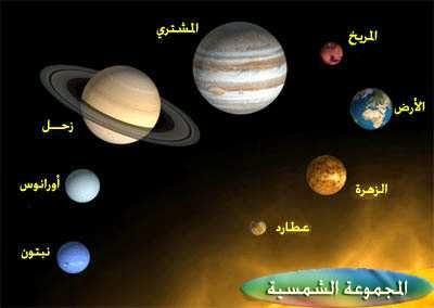 عدد الكواكب الشمسية