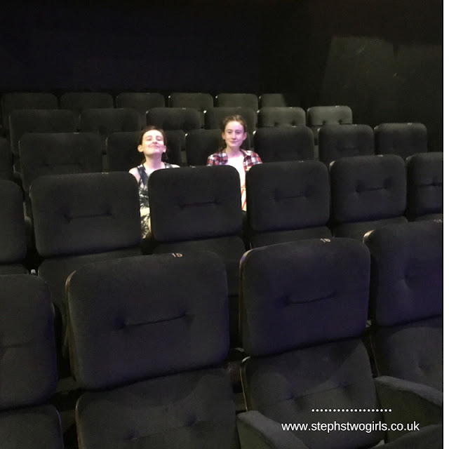 stephs two girls in cinema