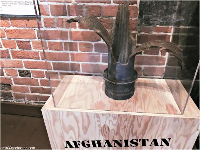 Exhibición con Objetos de Afganistán en la Ciudadela de Quebec