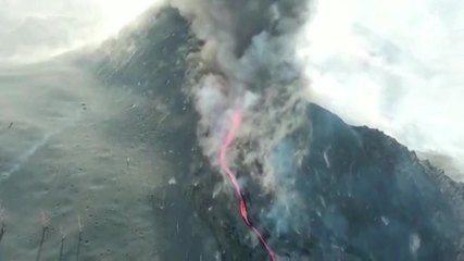 DIRETO | Erupção do vulcão em La Palma  - Ao Vivo