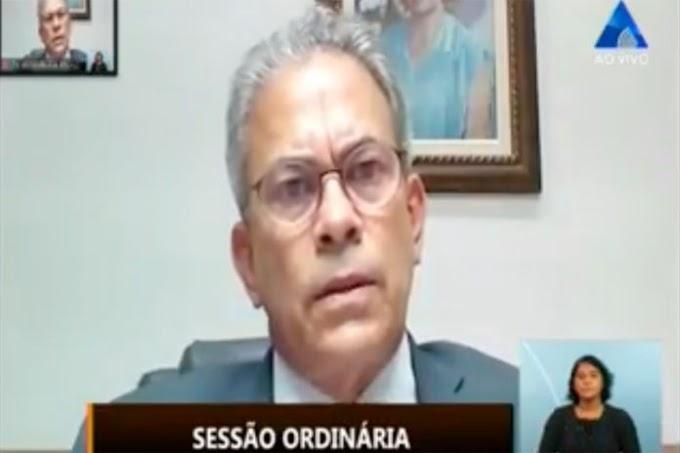 Hermano Morais chama atenção para rebaixamento do nível de água na Lagoa do Bonfim
