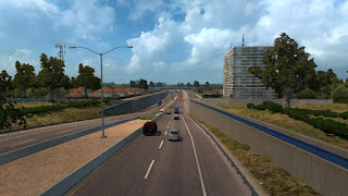 American Truck Simulator US 50 & CA 99 EXTENSIONS V1.3 MAP Map Download MODs