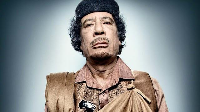 As reais razões que levaram o assassinato do Kadhafi