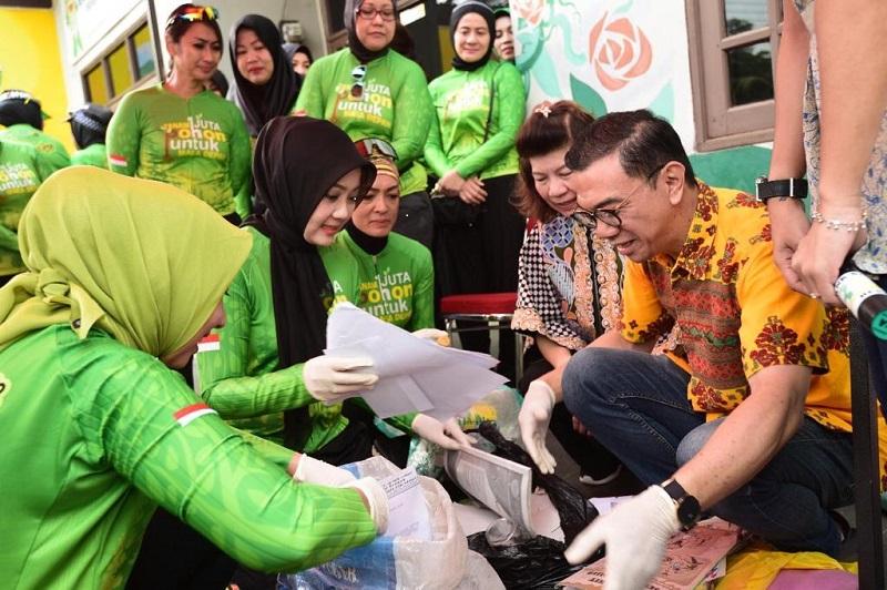 Atalia Ridwan Kamil Ingin Bank Sampah Bersinar  Diduplikasikan di Jabar
