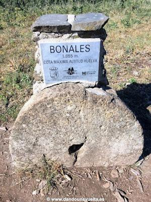 Pico Bonales. Cima más alta provincia de Huelva