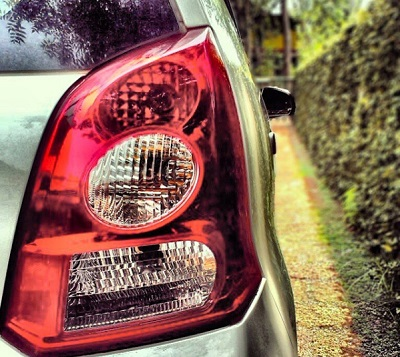 Desain Lampu belakang Suzuki A-Star