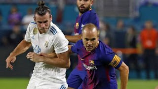 Video Gol Real Madrid vs Barcelona 2-3 El Clasio Miami ICC 2017 Amerika