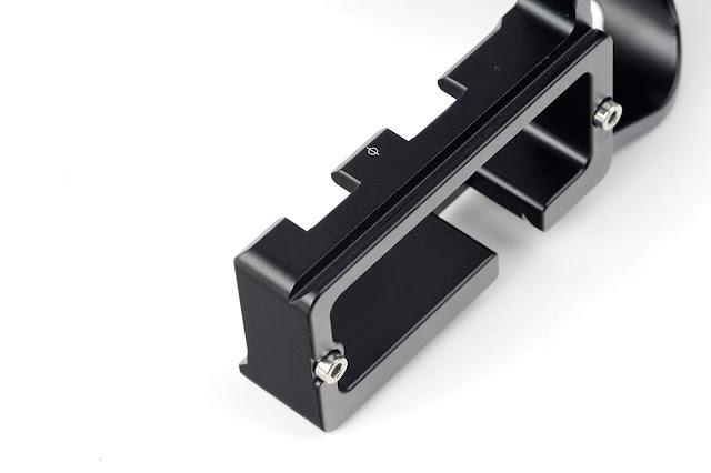 Sunwayfoto PCL-1DXII Custom L Bracket vertical plate detail