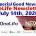OneLife Newsletter, July 14th, 2020