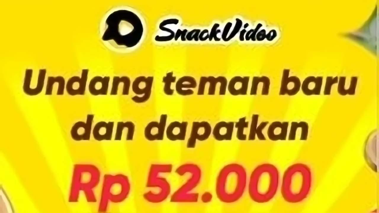 Cara Memperoleh Uang Dari Aplikasi Snack Video