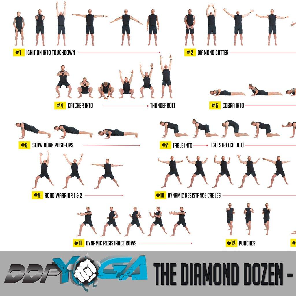 Ddp yoga workout calendar pdf.