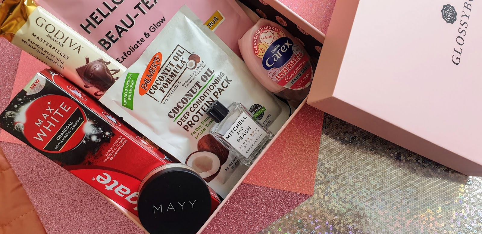 Glossybox September 2019 | Review | Delicious Beauty
