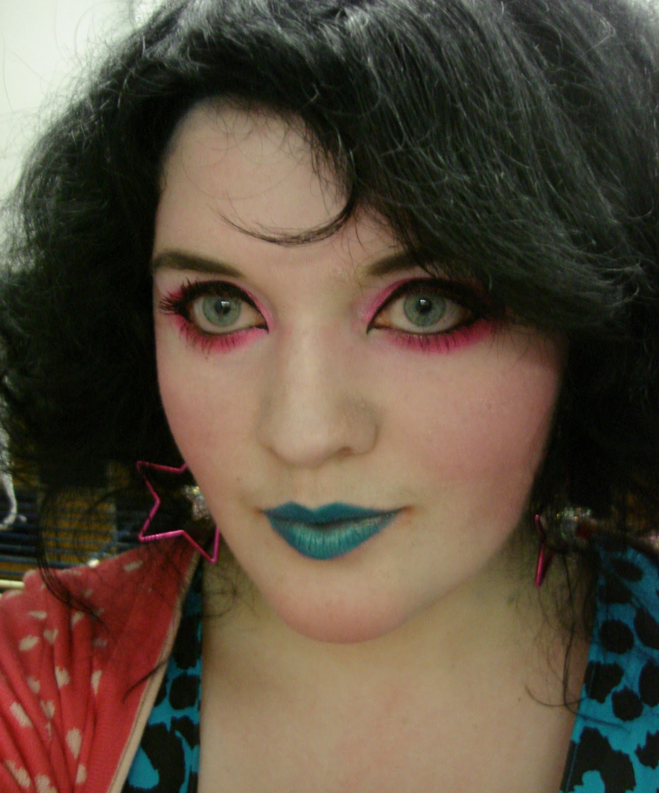 80s Punk Makeup Of Punk80s Gothish Look