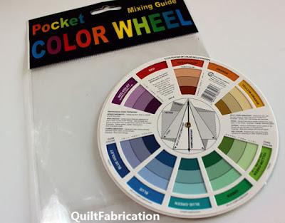pocket size color wheel