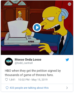 """Game Of Thrones"" Petition To Remake Season 8"