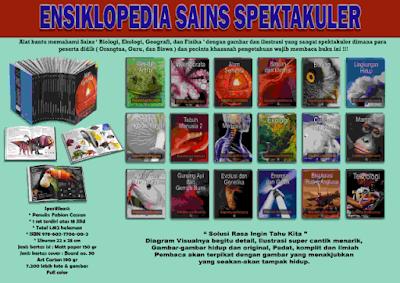 Jual Ensiklopedia Sains Spektakuler