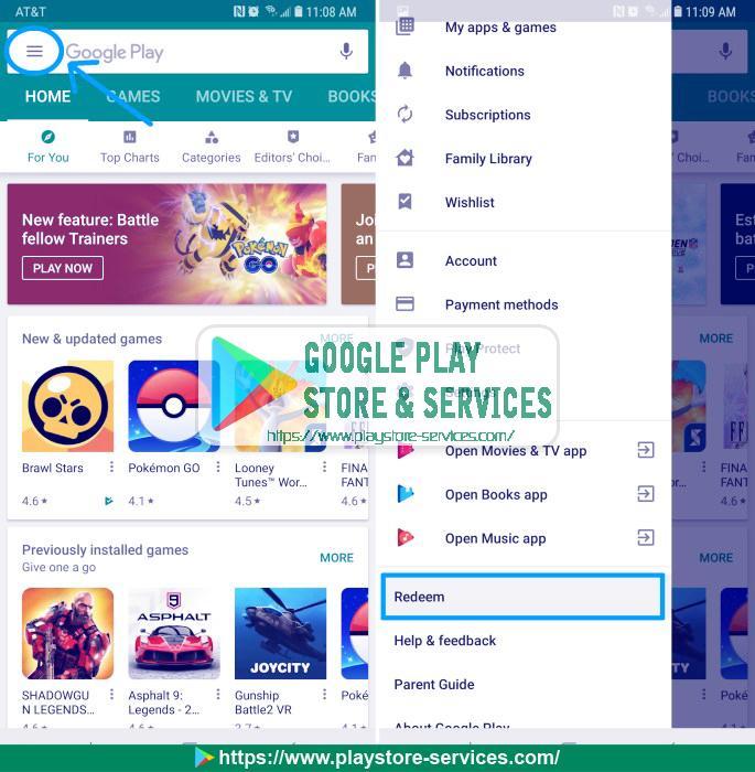 كيفية استرداد قيمة بطاقات هدايا Google Play على الهاتف أو الجهاز اللوحي
