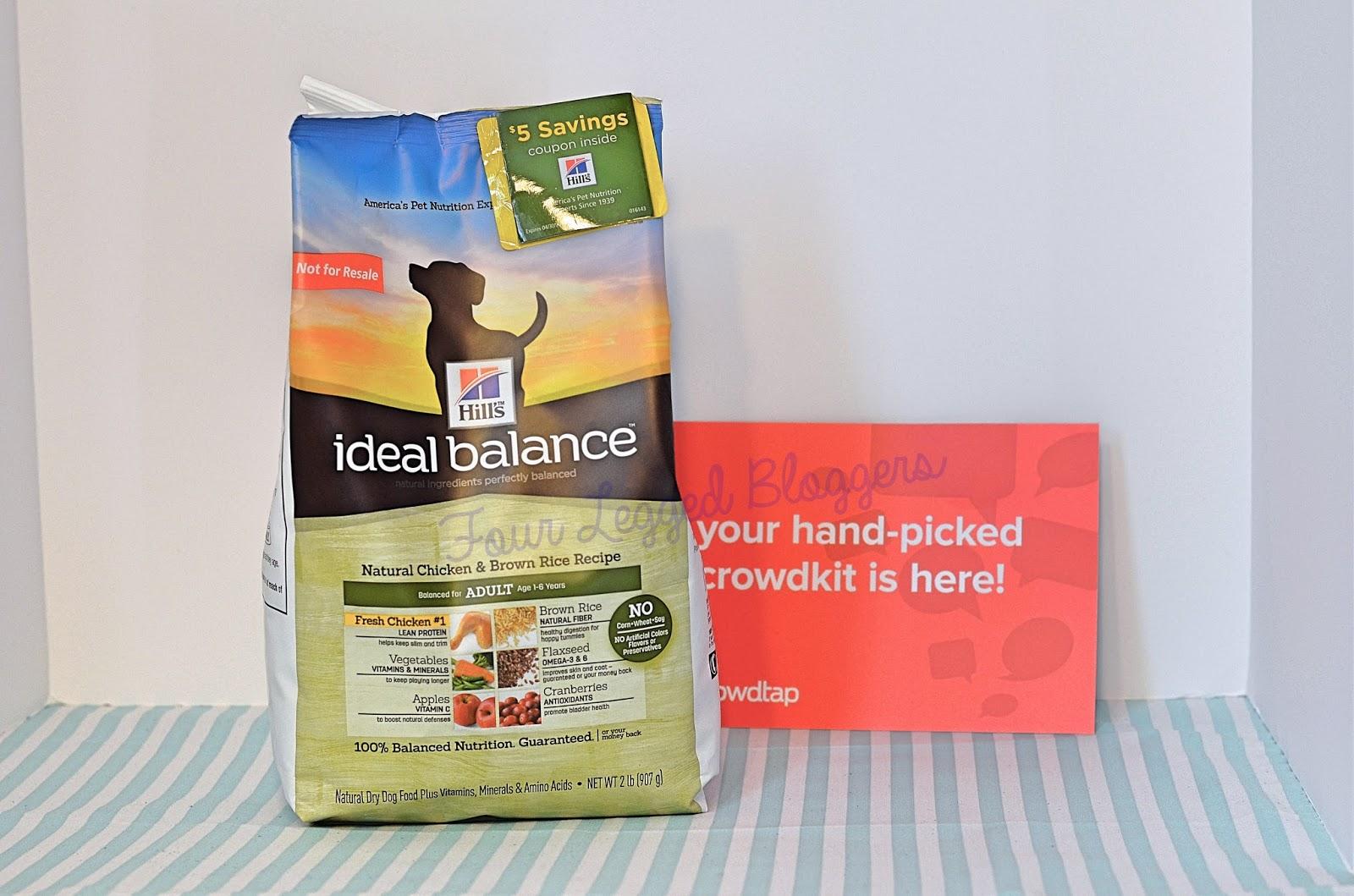 Ideal Balance Dog Food >> Four Legged Bloggers: Review: Hill's Ideal Balance Dog Food