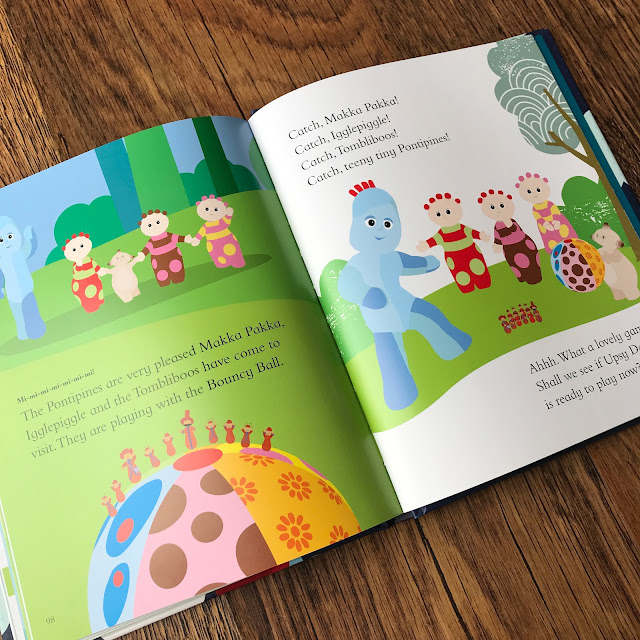 In The Night Garden: Bedtime Stories from the Night Garden Book