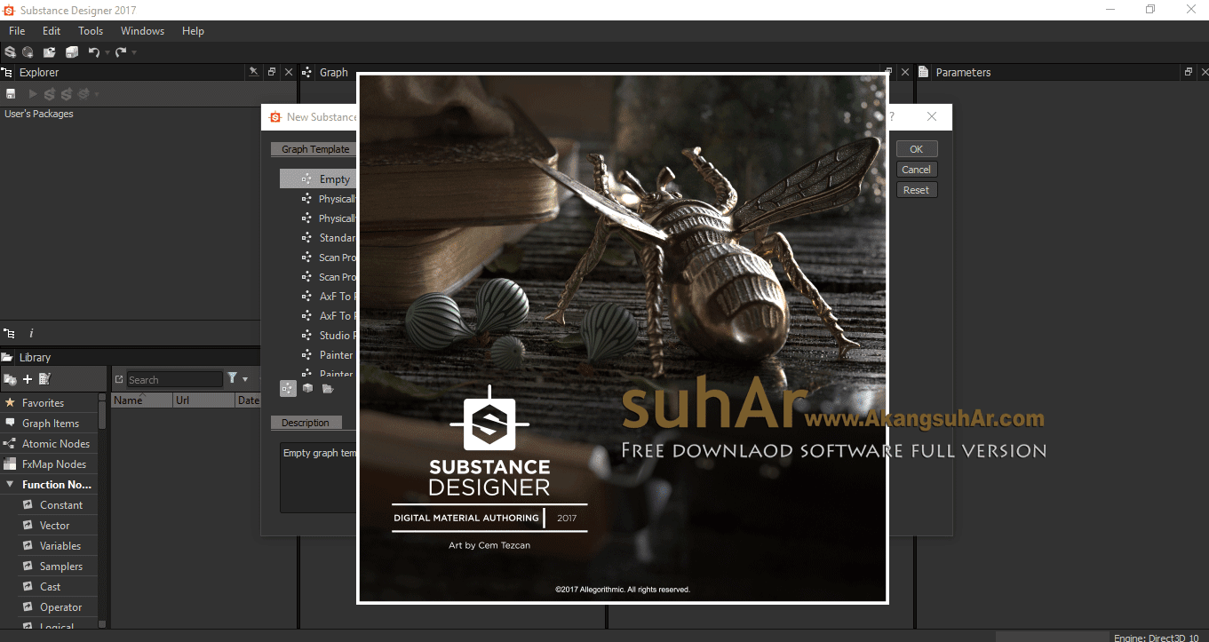 Download Allegorithmic Substance Designer Latest version