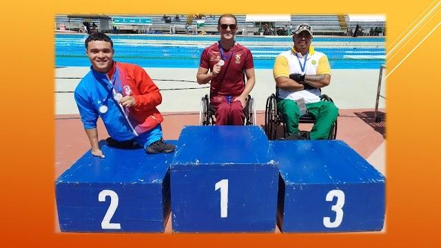Álex, con 8 medallas de Paranacionales
