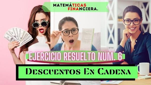 Matemáticas financieras EJERCICIOS RESUELTOS de interés simple N°6