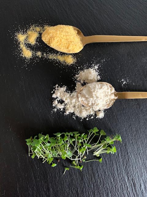 Microgreen-Polenta-Muffins, Rezept glutenfrei & vegan, Grow-Grow Nut, Keimgrün, Minimalismus: Zubereitung einfach + schnell, Healthy Food Style, Blog, Rezeptinspirationen für jeden Tag, gesund und lecker, Rezeptideen, schnelle Rezepte, entdecken, leicht