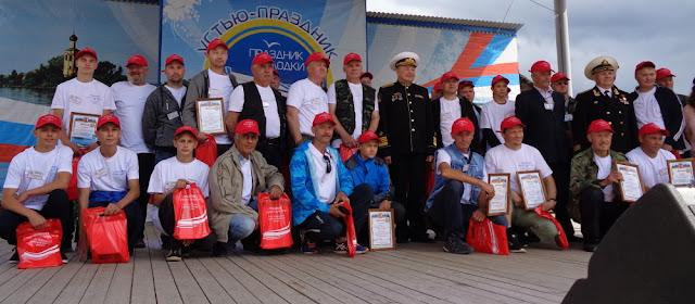 участники конкурса мастеров-лодочников 2019