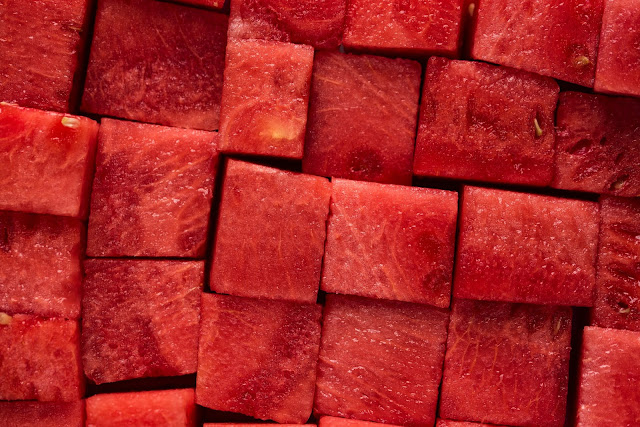 Watermelon, Why are you mad? When You Could be glad? Bersyukur
