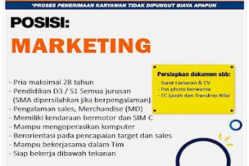 Lowongan Kerja Bandung Marketing Kios Unggas
