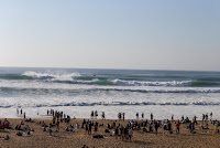 39 Line up on Round Two Quiksilver Pro France foto WSL Laurent Masurel