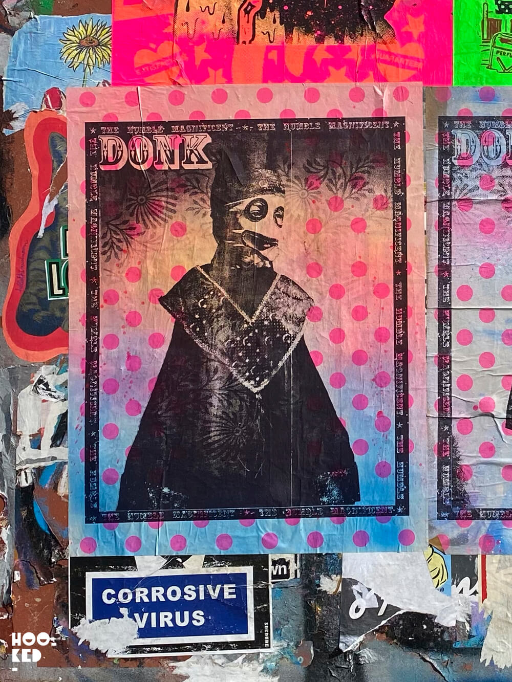 London Street Art in Shoreditch with Artists Donk, Zombiesqueegee and Fiftysevendesign