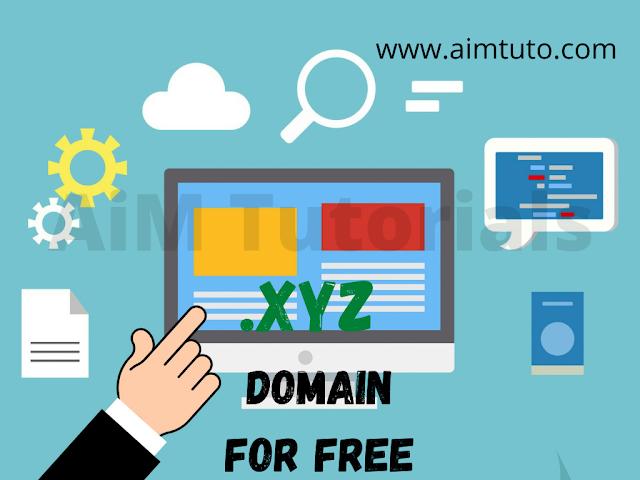 Get a free domain name