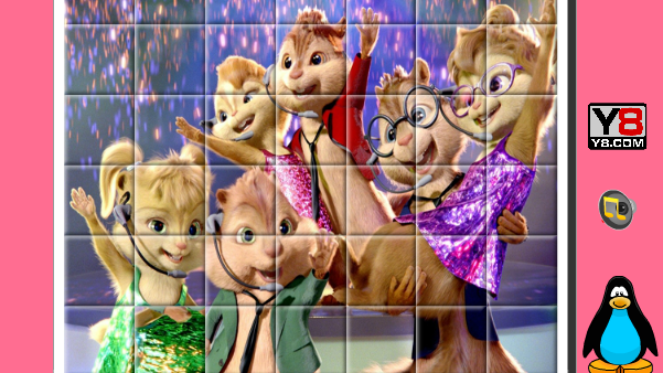 Alvin and the Chipmunks Spin Puzzle