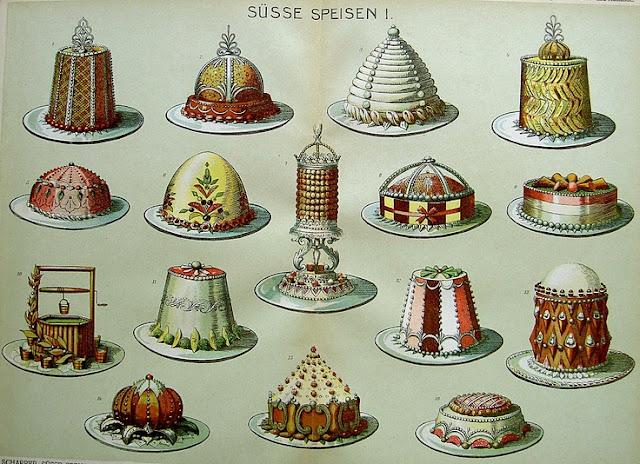 Risultati immagini per torte di Marie-Antoine Careme