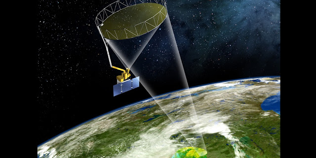 The SMAP observations are providing an unprecedented level of detailed, worldwide information on the amount of water in the top 2 inches (5 centimeters) of soil, collected globally every two to three days.  Image: NASA/JPL-Caltech