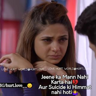 Sad Love Status For Whatsapp Dard Bhare Status In Hindi