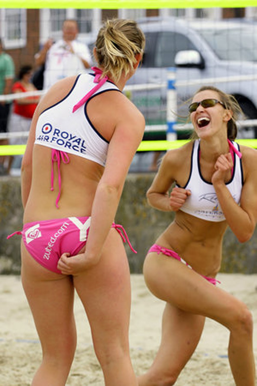Beach Volleyball Girl Photos