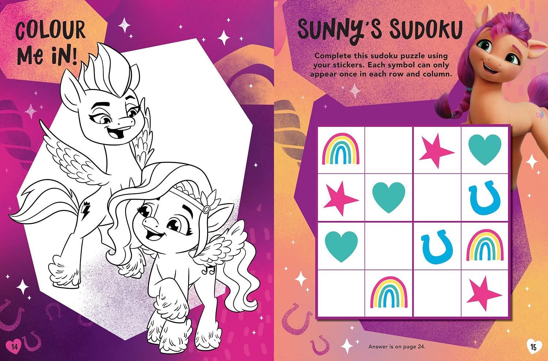 My Little Pony Movie Sticker Activity Book G5 Movie
