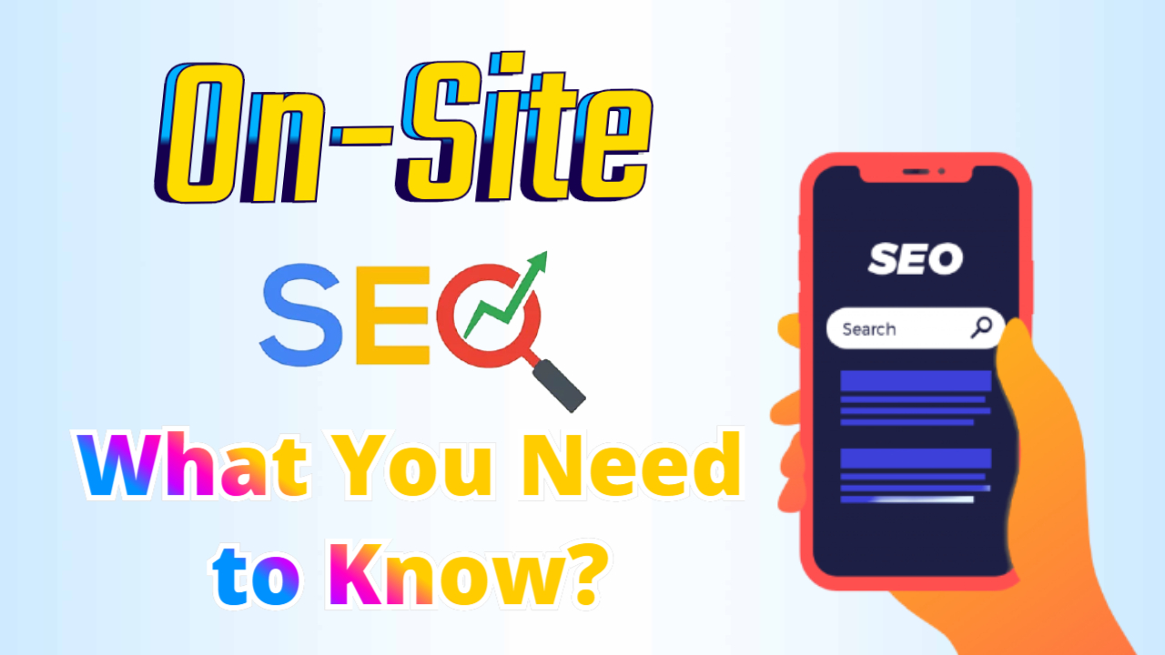 On site seo guide 2021